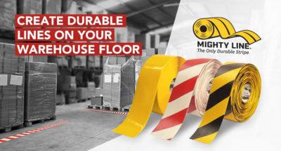 Mighty Line is the superior choice for warehouse floor marking!