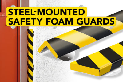 Steel Support Safety Foam Guards