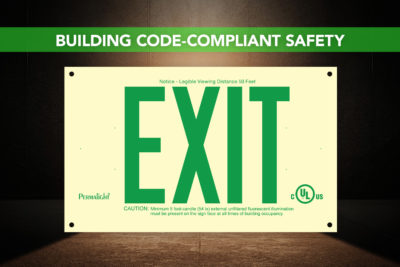 PERMALIGHT® PVC Exit Signs