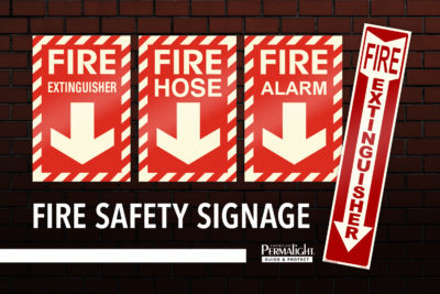 PERMALIGHT® Fire Safety Signage