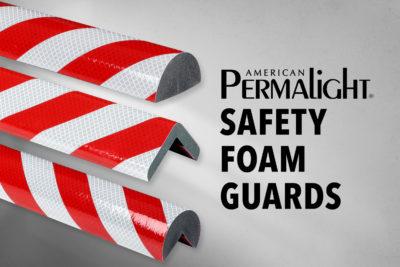 Retro-Reflective Safety Foam Guards