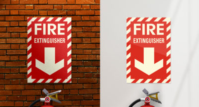 American PERMALIGHT® Fire Safety Signage