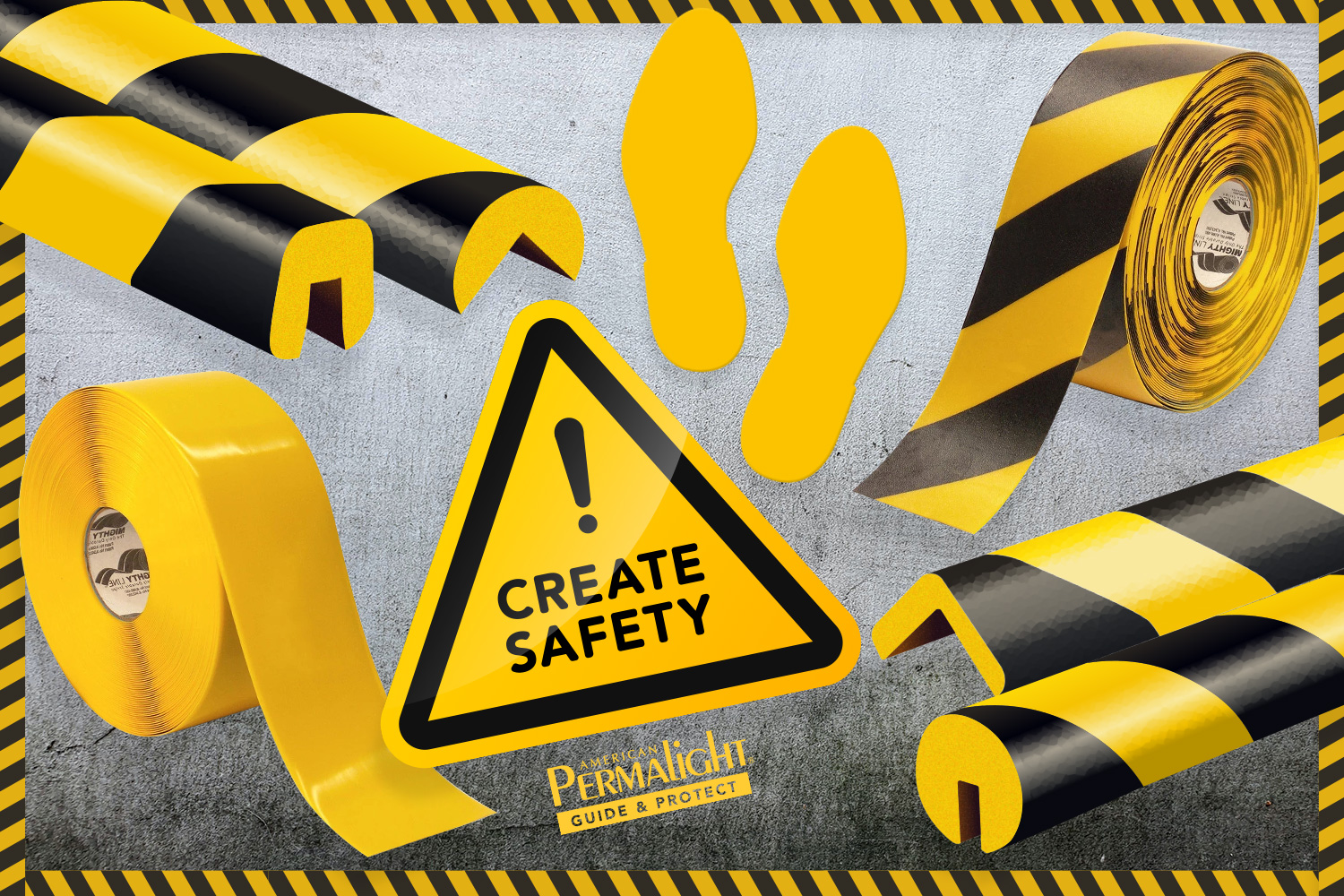 Create Safety with Black & Yellow
