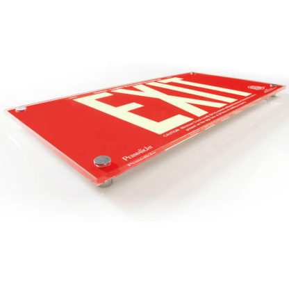 Red Acrylic EXIT Sign (#2)