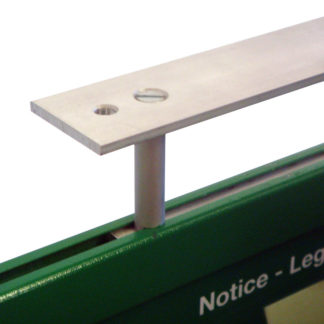 Aluminum Brackets for ceiling or perpendicular (flag) mount