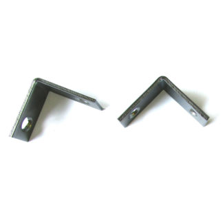 2 L-Shaped Mounting Clips