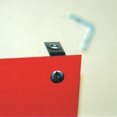 Mounting Clips for unframed EXIT signs