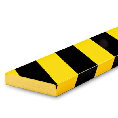 Flat Surface Protection, Type S1, Black / Yellow, self-adhesive