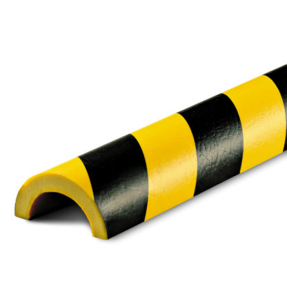 Pipe Protection, Type R, Black / Yellow