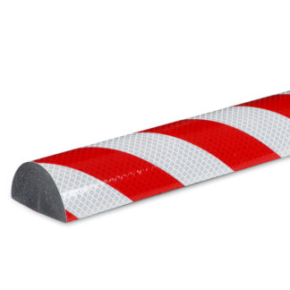 Flat Surface Protection, Type C+, Reflective Silver / Red, self-adhesive