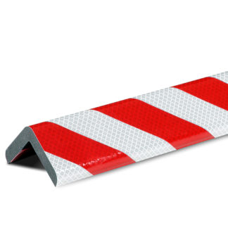 Corner Protection, Type H+, Reflective Silver / Red, self-adhesive