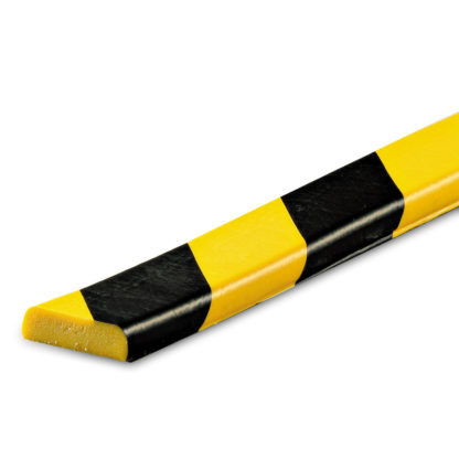 Flat Surface Protection, Type F, Black / Yellow, self-adhesive