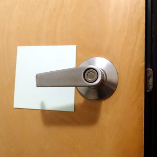 Door Hardware Markings