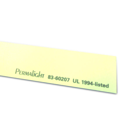 Photolumniescent Aluminum Strip