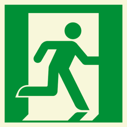 Emergency Exit Symbol - Running Man (Right)