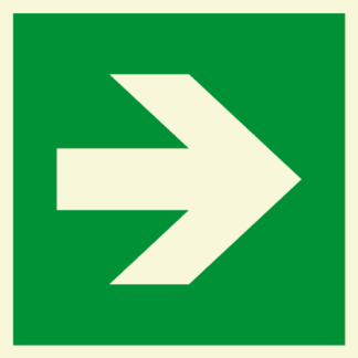 Directional Signage (Straight)