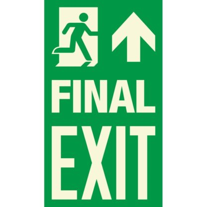 FINAL EXIT + Arrow up