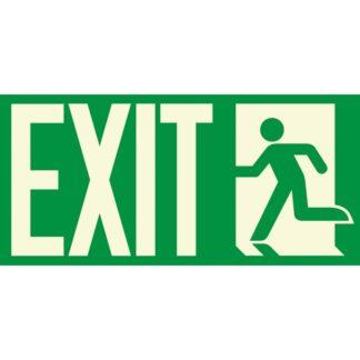 EXIT + Man running