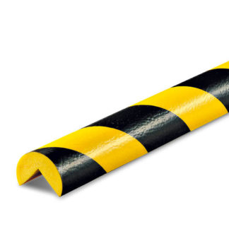 American PERMALIGHT® Corner Protection, Type A, Black / Yellow