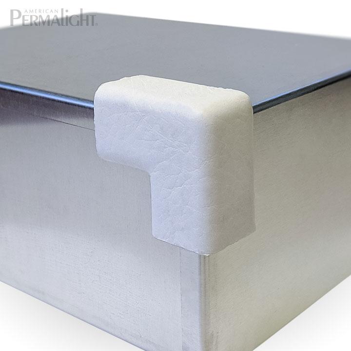 PERMALIGHT® 82-14907 2D Small White Squared Protective Corner