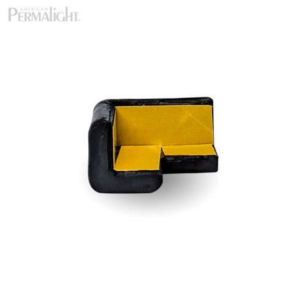 PERMALIGHT® 82-7401 2D Small Black Squared Protective Corner