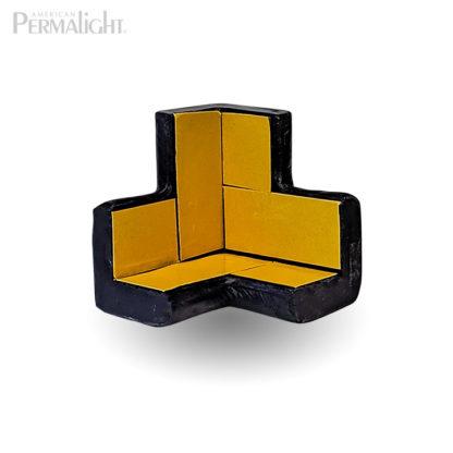 PERMALIGHT® 82-7402 3D Small Black Squared Protective Corner