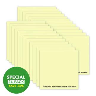 American PERMALIGHT® Photoluminescent Door Handle Backing Sticker - Aluminum - Self-Adhesive - 24-Pack