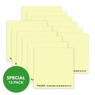 American PERMALIGHT® Photoluminescent Door Handle Backing Sticker - Aluminum - Self-Adhesive - 12-Pack
