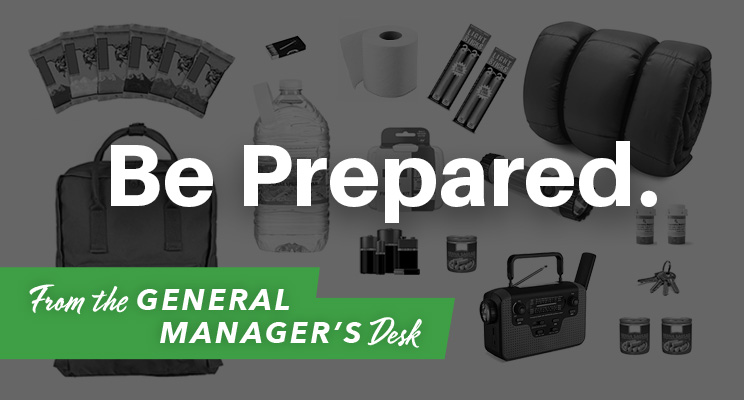 American PERMALIGHT® | From the General Manager's Desk | Be Prepared.