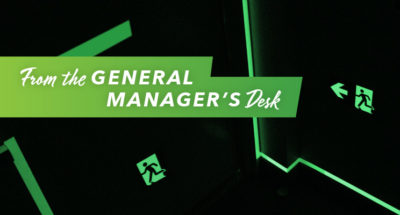 From the General Manager's Desk: Let Us Do the Work for You