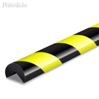 American PERMALIGHT® | Black-Fluorescent-Photoluminescent Safety Foam Guard Type-A | #82-0911