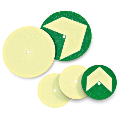 Aluminum Discs for Gratings / Catwalks, 2 sizes, with or without arrow