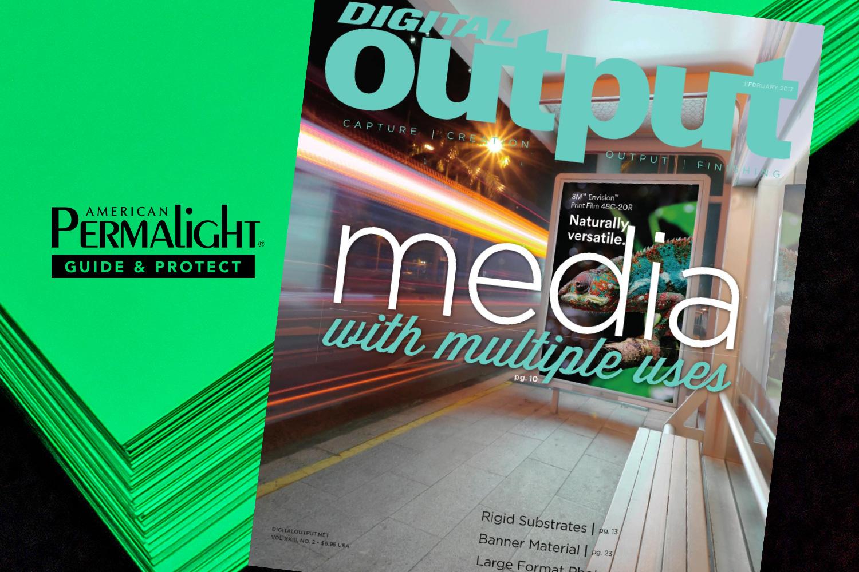 PERMALIGHT® Rigid Printable Substrates in Digital Output Magazine