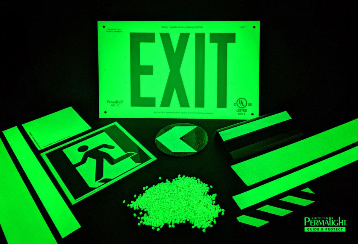 Assortment of PERMALIGHT® Photoluminescent Products