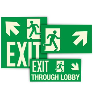 Emergency Exit Symbols per Local Law 141