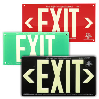 UL924 listed EXIT Signs
