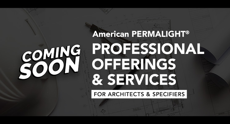 Coming Soon – Professional Offerings & Services for Architects & Specifiers