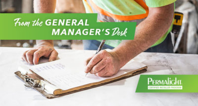 From the General Manager's Desk | November 2020 | American PERMALIGHT® Professional Services & Offerings