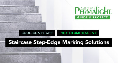 PERMALIGHT® Code-Compliant Staircase Step-Edge Marking Solutions