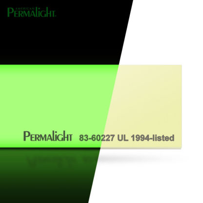 "PERMALIGHT® 2"" Photoluminescent Aluminum Strip, Self-Adhesive, Anti-Slip, UL1994-listed"