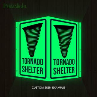 PERMALIGHT® Photoluminescent Custom Signs - Create Your Own!