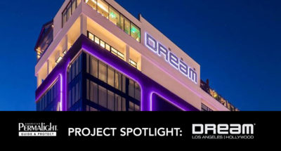PERMALIGHT® Project Spotlight: Dream Hotel, Hollywood, CA