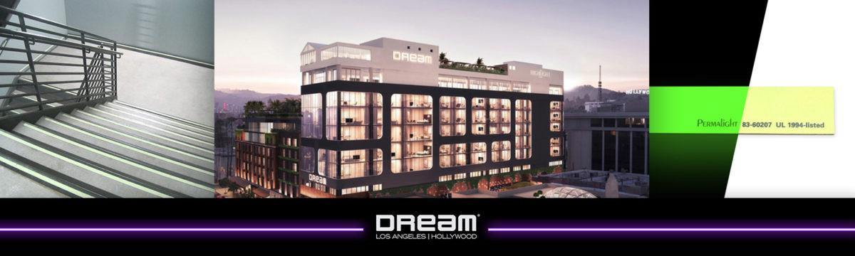 PERMALIGHT® Project Spotlight: Dream Hotel, Hollywood, CA