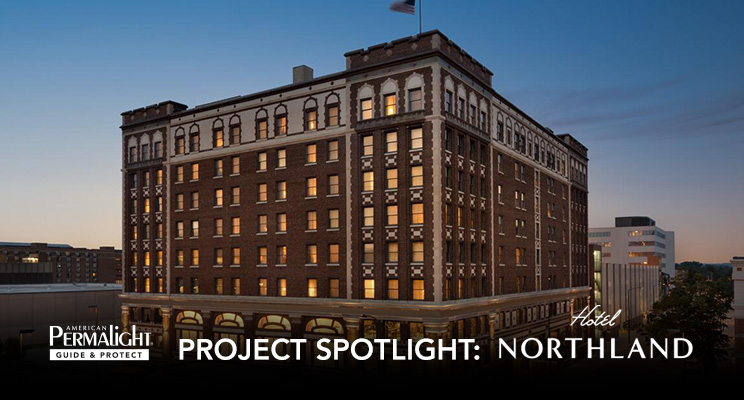 PERMALIGHT® Project Spotlight: Hotel Northland in Green Bay, Wisconsin