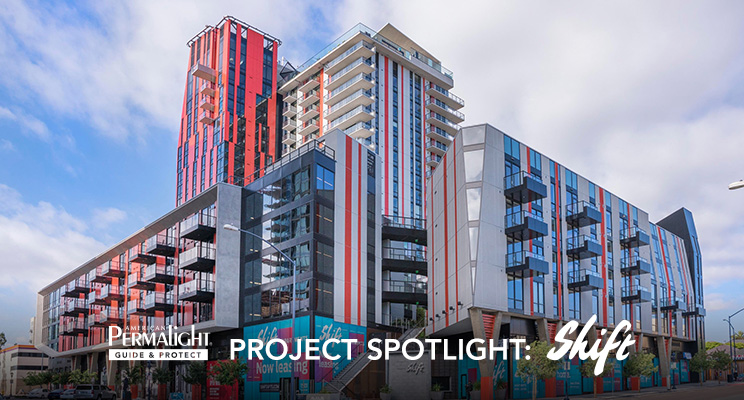 PERMALIGHT® Project Spotlight: Shift Tower Apartments in San Diego, CA