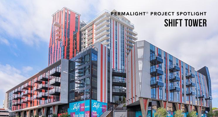 PERMALIGHT® Project Spotlight - Shift Tower Apartments